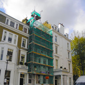Domestic Scaffolding Kensington London