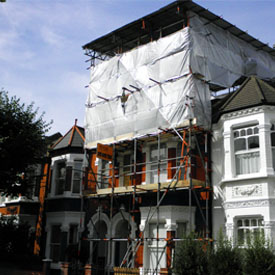 Domestic Scaffolding Clapham London